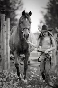 Girl with Horse 2